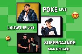 De populairste hiphopartiesten live in Victorie tijdens Plankgas