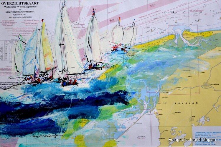 Tentoonstelling DE ZEE + 12 KUNSTENAARS bij Kunstuitleen Alkmaar