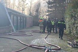 Brand in verzegeld clubgebouw Hells Angels Heiloo onder controle