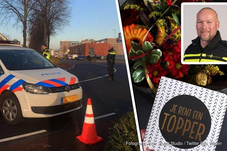 """Slapeloze nachten voor Alkmaarse wijkagent na schieten op autorovers: """"Steun doet me goed"""""""