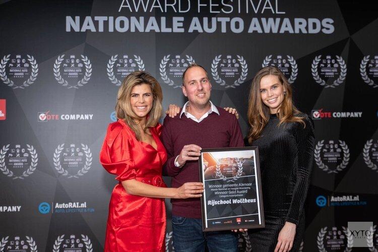 Autorijschool Woltheus wint award voor beste rijschool van Alkmaar