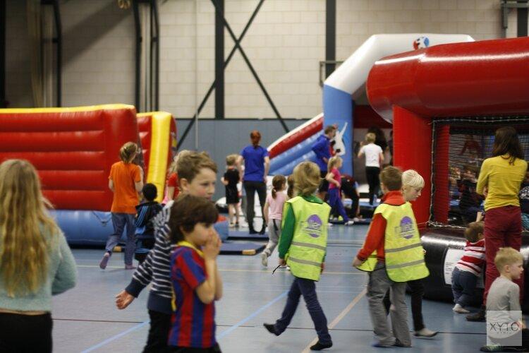 Sportspektakel in sportcomplex Oosterhout