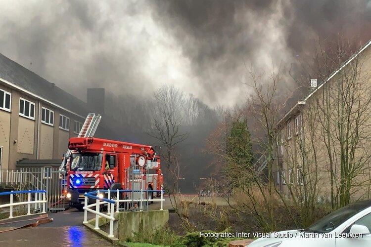 Jongens aangehouden voor brand in schoolgebouw