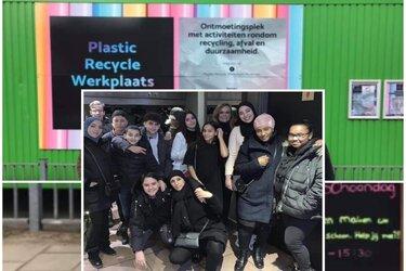 Plastic Recycle Werkplaats sinds 2018 ontmoetingsplek voor buurbewoners