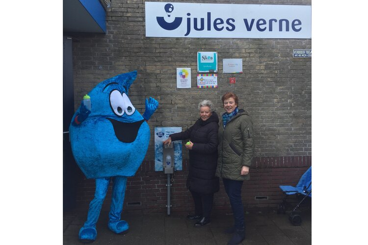 Opening Watertappunt Jules Verne