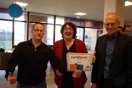 Feestelijke uitreiking certificaten Leerplein WNK