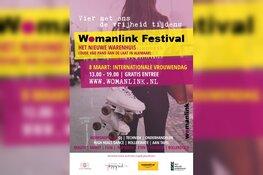 WomanLink Festival/Internationale Vrouwendag op zondag 8 maart 2020