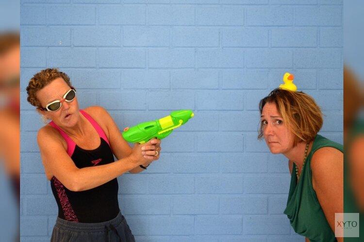 Papaver4Kids oefent voor de eendjes-schietwedstrijd. Doe je mee?