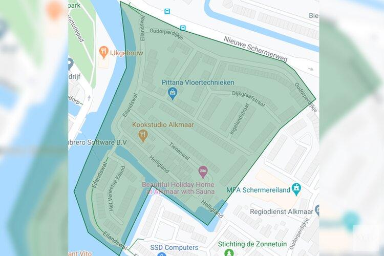 Tijdelijk gratis vergunningshouders parkeren deel Schermereiland