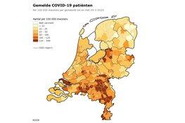 RIVM: 10.866 besmettingen, 771 personen overleden