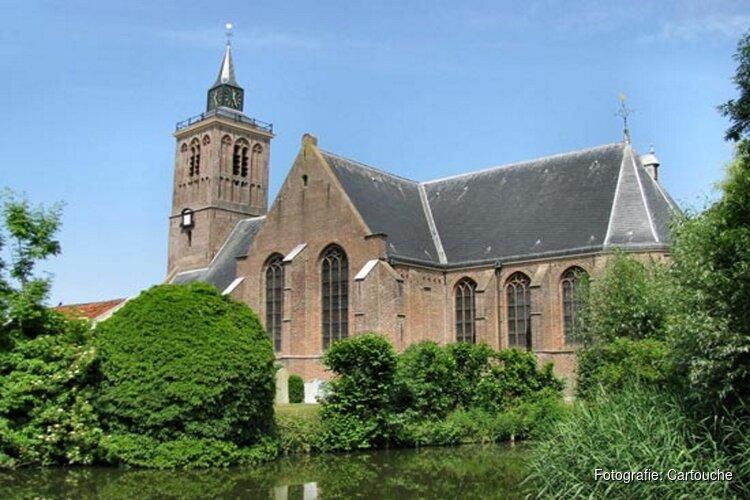 Cartouche verplaatst concerten in Grote Kerk De Rijp