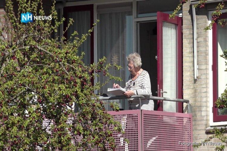 """Buitenbingo vanaf het balkon: """"Eindelijk weer iets positiefs in ons leven"""""""