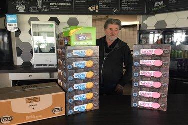 Kolping Boys ondersteunt voedselbank Alkmaar