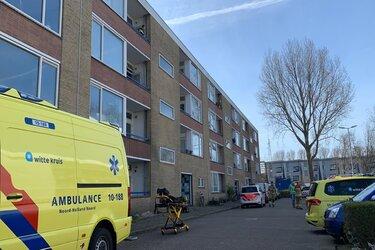 Slachtoffer schietpartij Alkmaar in deuropening in been geschoten
