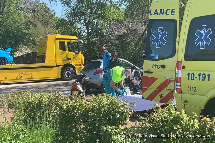 Drie auto's betrokken bij ongeval Schoorldam