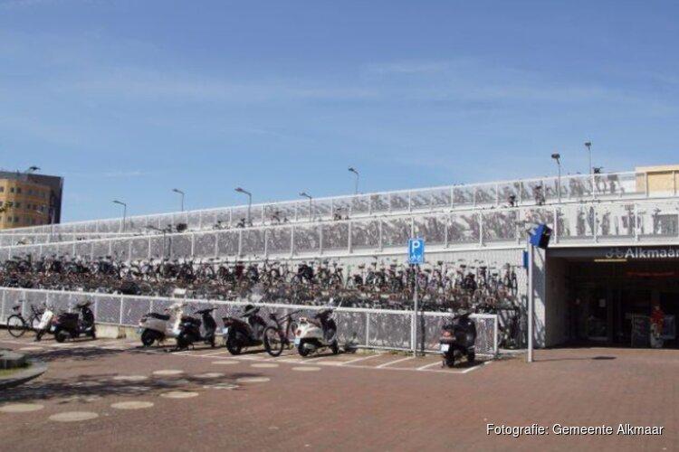 Onbewaakte fietsenstalling NS voorplein station Alkmaar tot medio juli niet beschikbaar