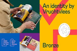 European Design Award voor vernieuwde merkidentiteit van TAQA Theater De Vest/Grote Kerk