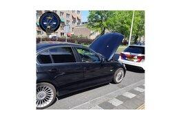 Man in gestolen auto aangehouden op A9