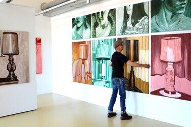 Kunstuitleen Alkmaar gaat weer helemaal open, met nieuwe tentoonstelling