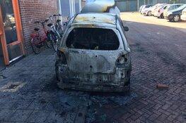Opnieuw nachtelijke autobrand, nu in Jongkindlaan