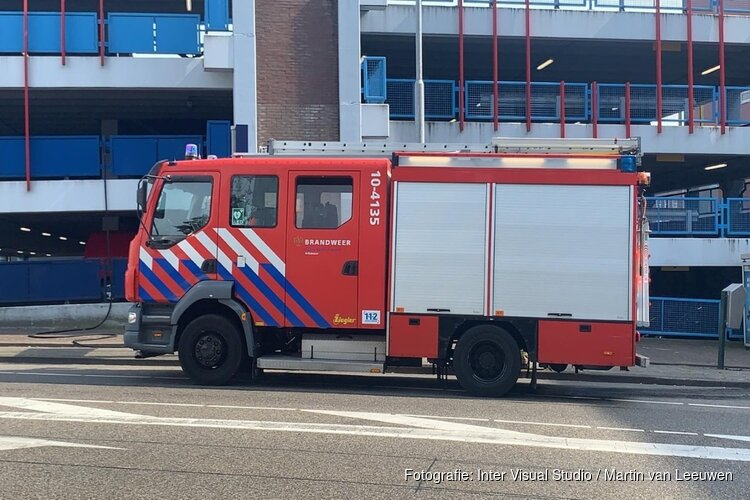 Korte brand in parkeergarage in Alkmaar