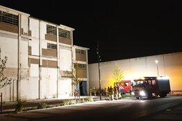 Brandje in voormalige chocoladefabriek snel onder controle