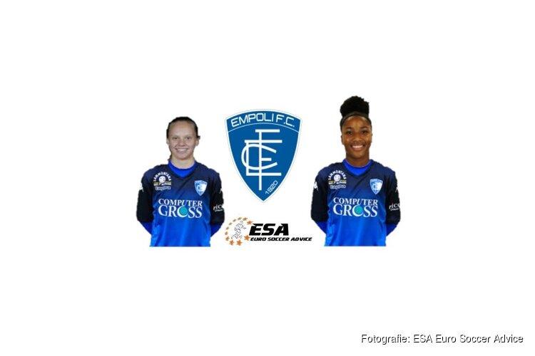 Anna Knol en Chanté-Mary Dompig naar Italiaanse Empoli FC