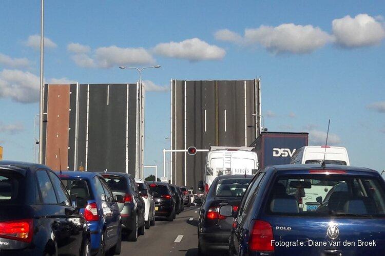 Technische storing aan Leeghwaterbrug na twee uur verholpen
