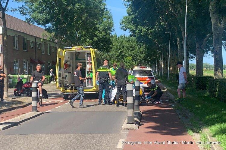 Fietsster gewond in Alkmaar