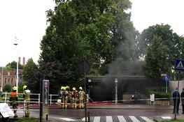 Grote brand in ondergrondse parkeergarage Alkmaar