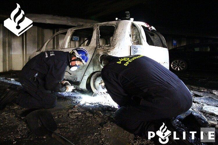 Onderzoek naar oorzaak brand parkeergarage Alkmaar