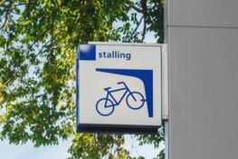 Fietsenrekken station Alkmaar Noord tijdelijk weg