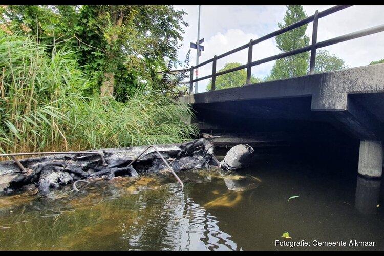 Pelmolenbrug tijdelijk eenrichtingverkeer door brandschade