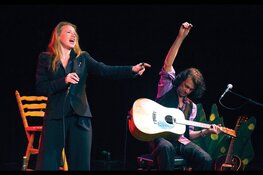 Cartouche biedt in Grote Kerk klein theater met Shaffy voorstelling