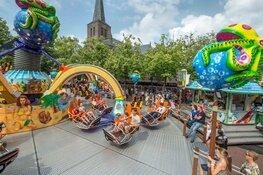 Veel attracties op zomerkermis in Alkmaar