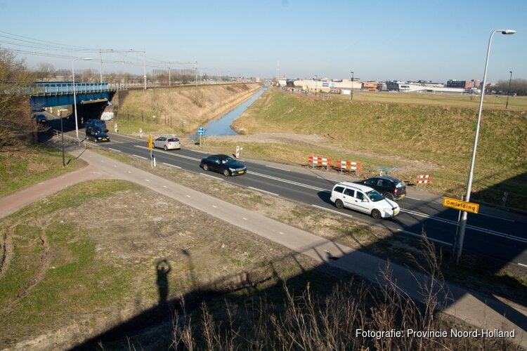 Reparatiewerkzaamheden aan de N242, N508 en N243 bij Alkmaar