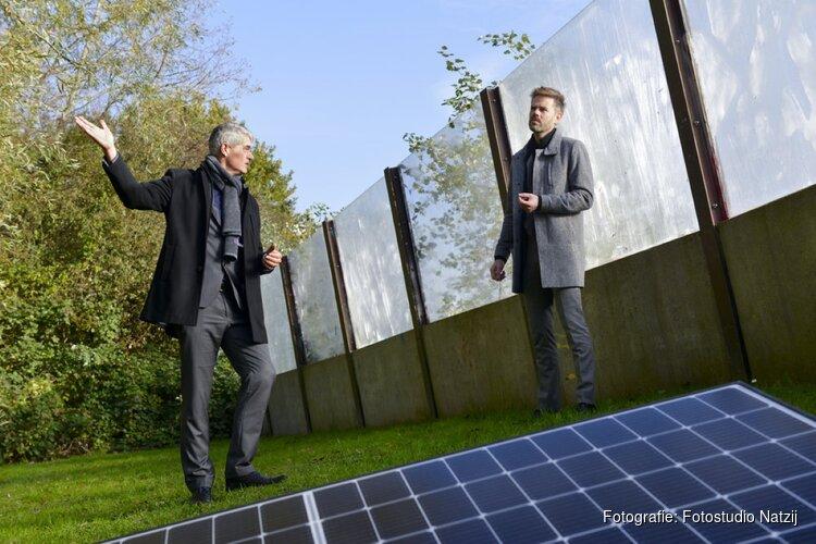 K_Dekker, Sunprojects, Krinkels BV en Sunconnect winnen samen gunning Energieleverend Geluidsscherm