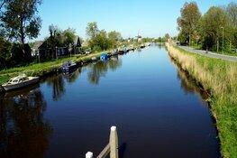 Afsluiting fietspad Molenkade in Alkmaar