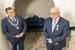 Kermisman Jan Boots nu Ridder in de Orde van Oranje Nassau