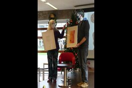 8e en laatste DichtDruk duo sluit project af in de bibliotheek