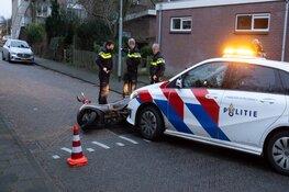 Scooterrijder aangereden door politie na achtervolging