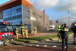 Grote brand aan de Amethiststraat in Alkmaar