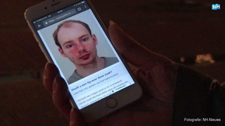 Tijdlijn: De zoektocht naar de vermiste Michael Haver (22) Foto: NH NieuwsFoto: NH Nieuws