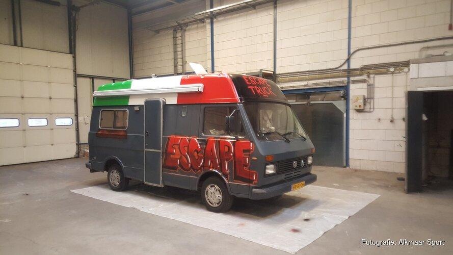 Escape Truck komt 14 januari met 'Food Truck Disaster' naar Alkmaar