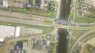 Zorgen om veiligheid door afsluiting fietspad Leeghwaterbrug: ''Dit is levensgevaarlijk''