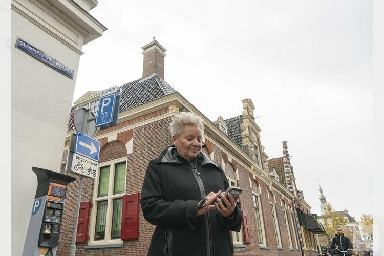 55% parkeert met mobiele telefoon in Alkmaar