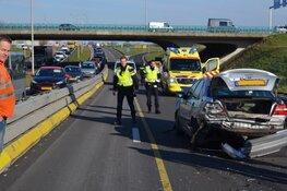 Ongeval op N242 bij viaduct Ranzijn