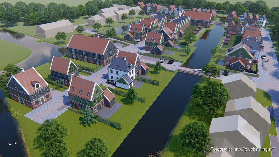 Zeventig nieuwbouwwoningen in De Rijp voor de zomer in verkoop