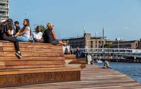 Aanmeren met pleziervaartuigen langs de Noorderkade