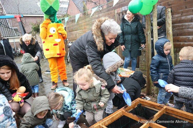 Opening 1e smakelijke moestuin in Alkmaar